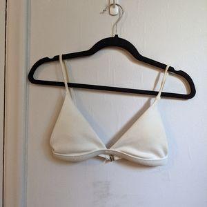 ribbed bikini top